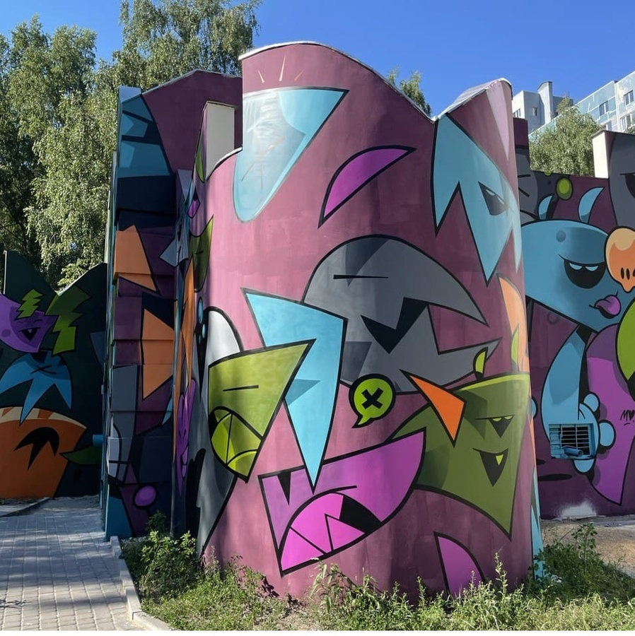 Стрит-арт по соседству: прогулка по городу красок - фото 6