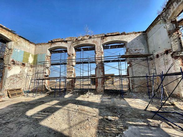 Реконструкция здания фильтровальной станции на нижегородской Стрелке завершится к июлю - фото 3