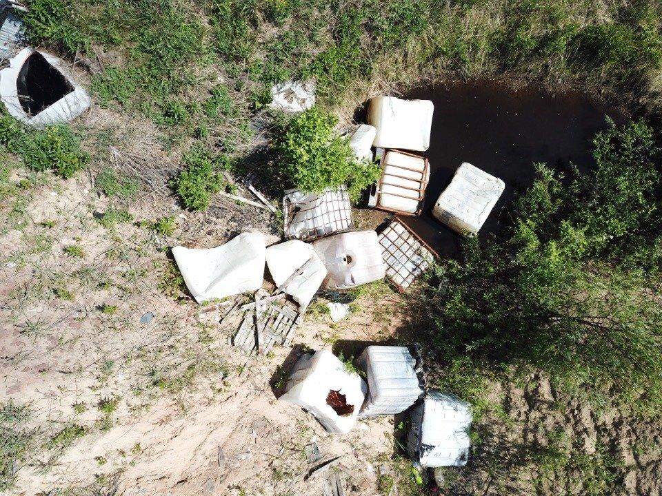 Из-за свалки химических отходов главу Дзержинска привлекли к административной ответственности - фото 1