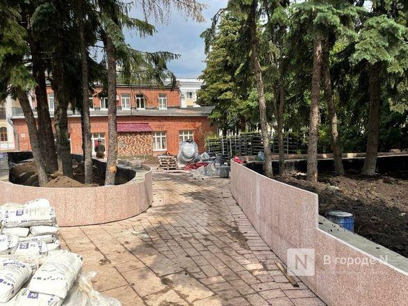 Еловый сквер благоустраивают в Нижегородском кремле - фото 6