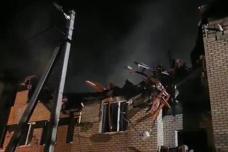 МЧС опубликовало видео с ликвидации последствий обрушения дома в Дальнеконстантиновском районе