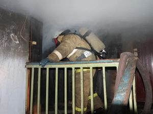Трое детей чуть не погибли в горящей девятиэтажке в Автозаводском районе