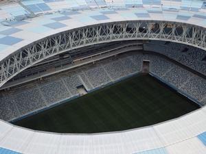 Прошивка газона завершена на стадионе «Нижний Новгород» (ФОТО)