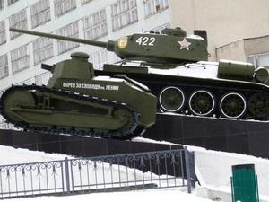 Плакаты с первым отечественным танком, собранным в Нижнем Новгороде, появятся на улицах столицы Приволжья