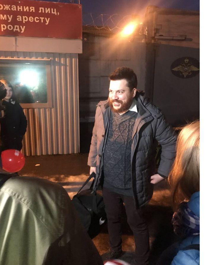 Леонид Волков вышел насвободу после административного ареста