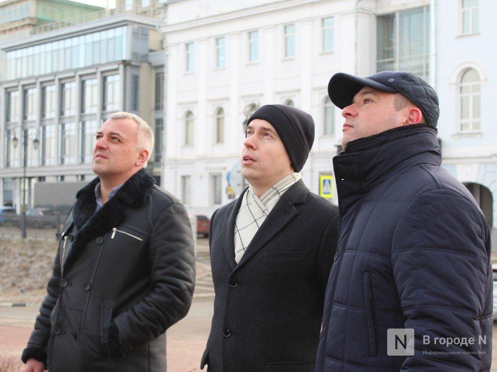 Памятник Чкалову отреставрировали в Нижнем Новгороде - фото 5