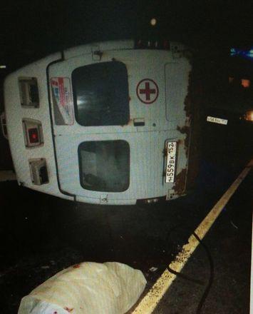 Два человека погибли и пятеро ранены в ДТП с участием скорой в Городецком районе - фото 3