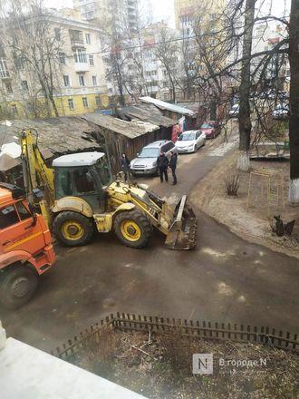 Строители инфекционного госпиталя раскурочили двор жителям с улицы Генкиной - фото 10