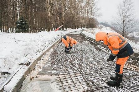 Объем работ по благоустройству парка «Швейцария» увеличился на 5% в январе