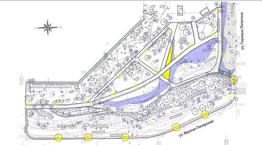 Нижегородцы выступили против шезлонгов и велопарковки на улице Лопатина
