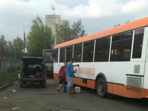 Пойманный на краже топлива водитель уволен из Нижегородпассажиравтотранса
