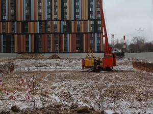 Новый детский сад начали строить в Ленинском районе