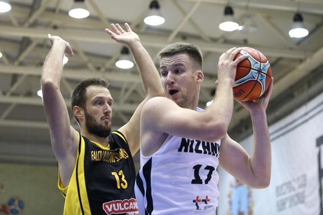 «Нижний Новгород» обыграл венгерский «Сомбатей» вматче Кубка Европы FIBA