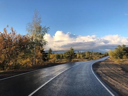 Игумновское шоссе полностью отремонтировали в Нижегородской области