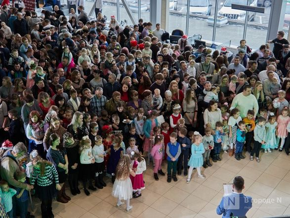 «Луидор» устроил новогоднее гулянье для сотен нижегородцев и их детей - фото 23