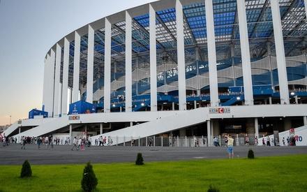 Новые спортплощадки откроются на стадионе «Нижний Новгород»