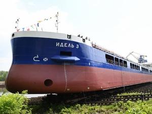 Новый сухогруз «Идель-3» сошел на воду на «Красном Сормове»