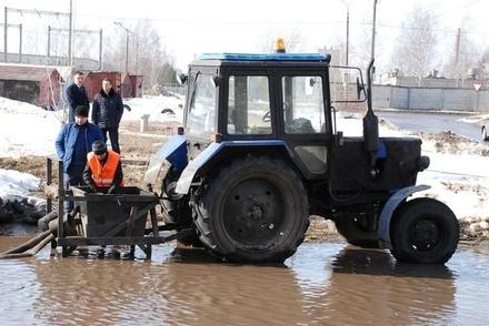 В Нижнем Новгороде начинается подготовка к паводку