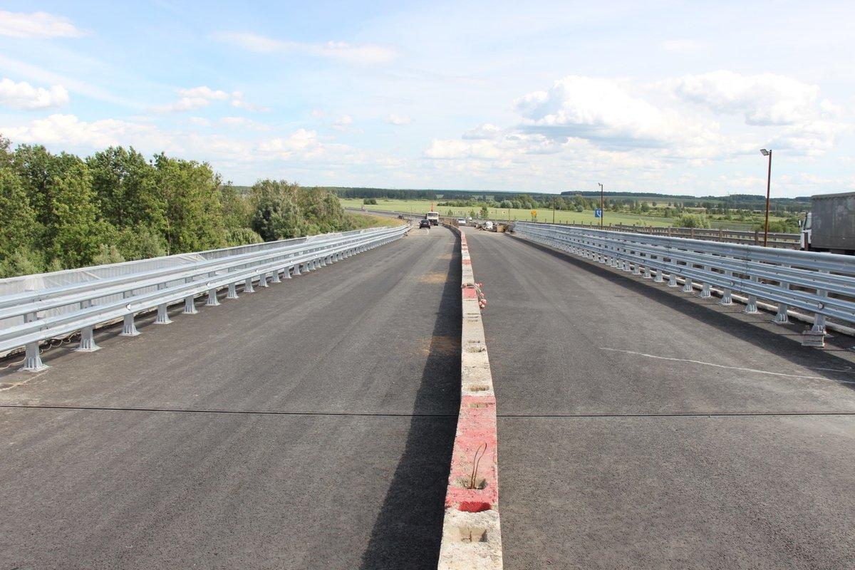Начались ремонтные работы на правой стороне путепровода на Южном обходе Нижнего Новгорода - фото 1