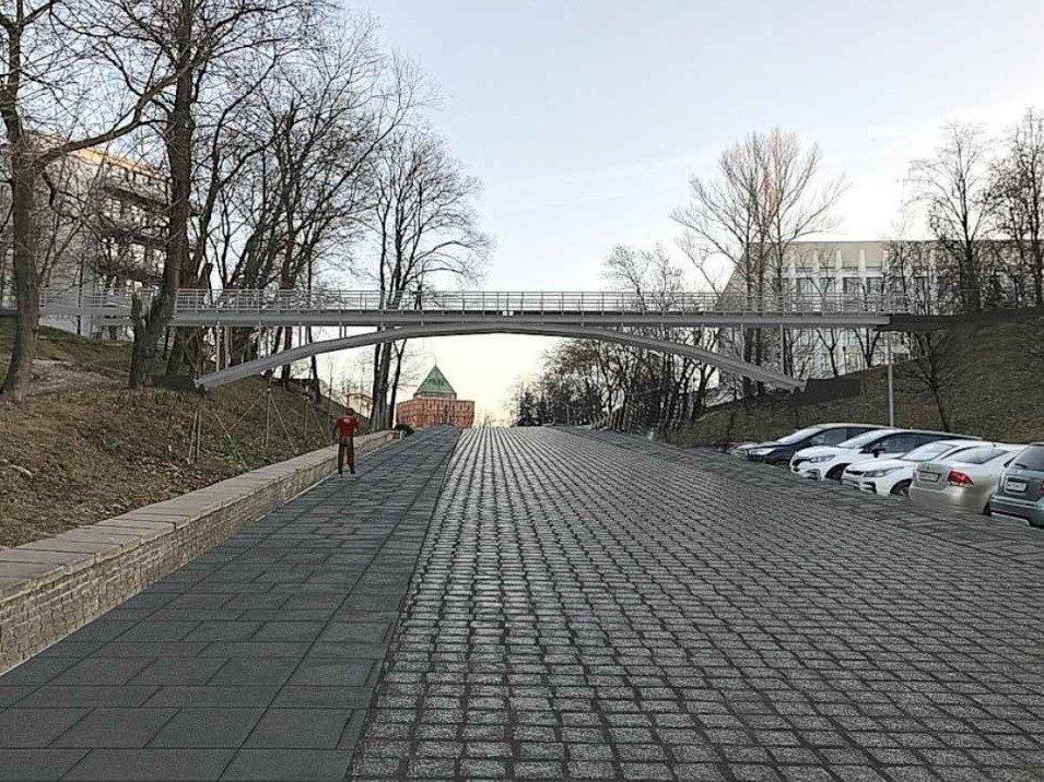 Эксперты рекомендовали отказаться от Hi-Tech моста в Нижегородском кремле - фото 1