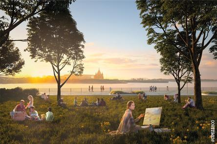 Благоустройство Нижневолжской набережной в Нижнем Новгороде завершится в июле