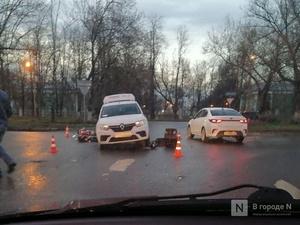 Смертельная авария с такси и мотоциклом произошла в Автозаводском районе