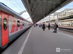 Количество пассажиров скоростных поездов в Нижний Новгород сократилось из-за коронавируса
