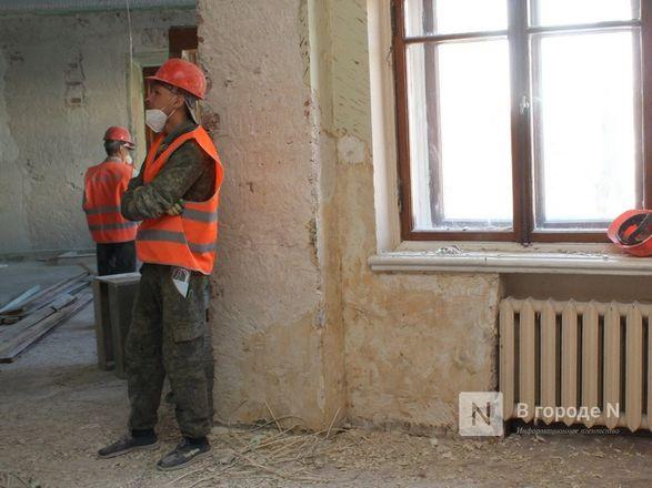 Единство двух эпох: как идет реставрация нижегородского Дворца творчества - фото 37