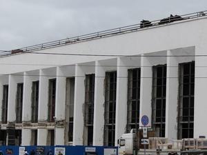На железнодорожном вокзале в Нижнем Новгороде завершается ремонт второй платформы