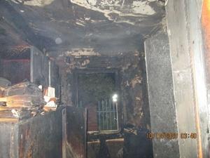 Мужчина погиб на пожаре в Советском районе