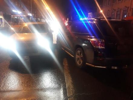 Задержан подозреваемый в совершении ДТП с детьми на улице Горького