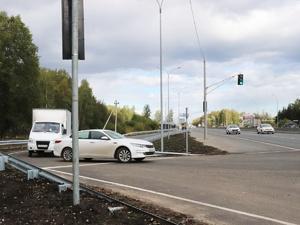 Новый разворот появился на Московском шоссе в Нижнем Новгороде