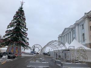 Стала известна программа открытия фестиваля «Горьковская елка» на площади Минина