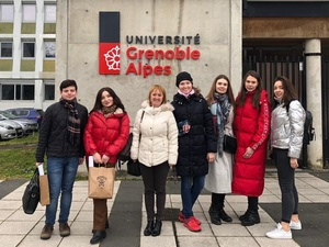 Студентка ИЭП ННГУ приняла участие в зимней школе Университета Гренобль Альпы