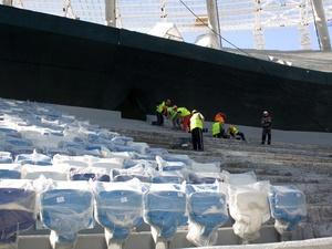 Почти две тысячи кресел установлено на стадионе «Нижний Новгород» (ФОТО)