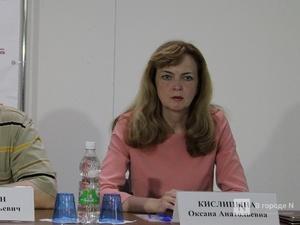 Права нижегородцев будет защищать экс-глава регионального избиркома Оксана Кислицына