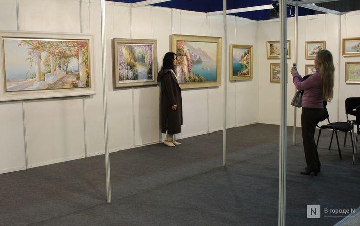 6000 квадратных метров искусства: выставка «АРТ Россия» открылась в Нижнем Новгороде - фото 9