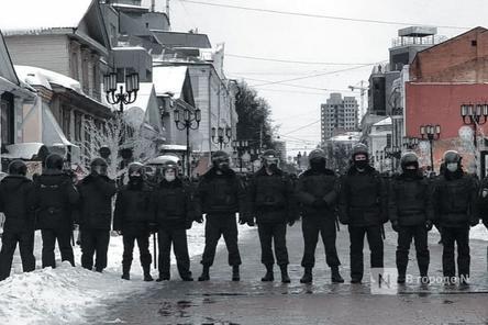 Еще десять участников митинга против коррупции в Нижнем Новгороде оштрафованы
