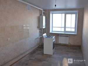 Свыше полутора тысяч квартир построено в Нижегородской области в марте