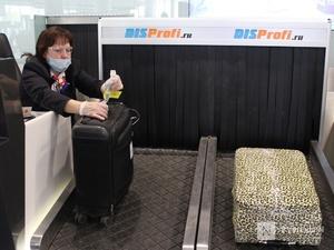 «Антикоронавирусные» кабины для багажа появились в нижегородском аэропорту