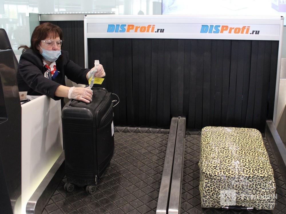 «Антикоронавирусные» кабины для багажа появились в нижегородском аэропорту - фото 1
