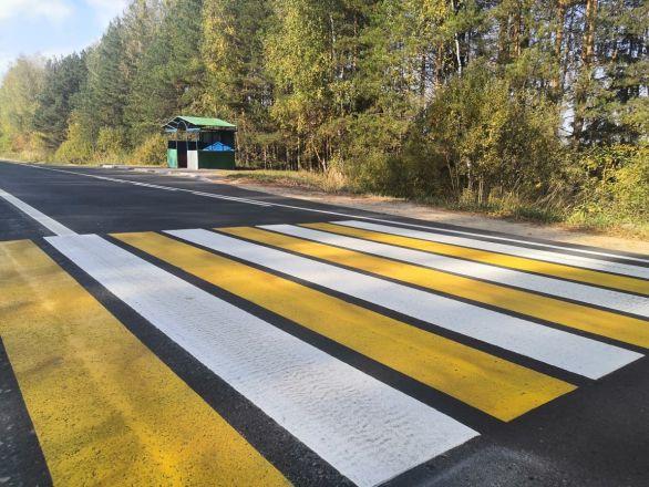 Десять километров дороги Городец – Ковернино отремонтировали почти за 60 млн рублей - фото 4