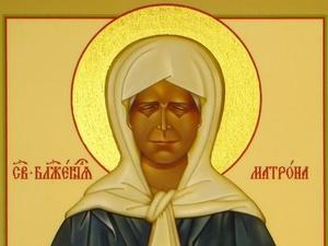 Икона блаженной Матроны Московской прибудет в храм Автозаводского района
