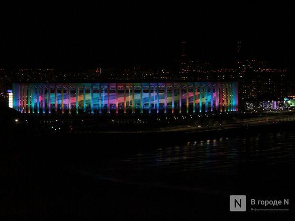«Свет сердца» зажгли кремль, стадион «Нижний Новгород» и телебашня - фото 11