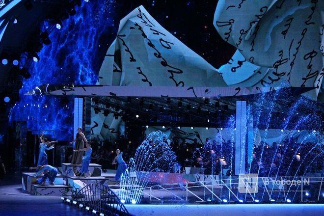 Огонь, вода и звезды эстрады: Как прошло гала-шоу 800-летия Нижнего Новгорода - фото 64