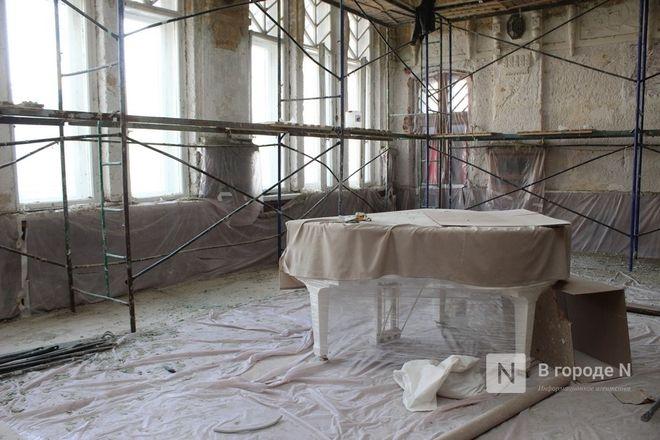 Реставрация Дворца творчества в Нижнем Новгороде выполнена на 10% - фото 5