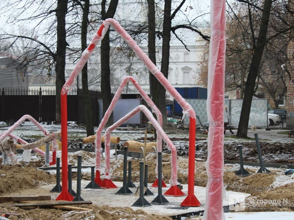 Нижегородцы обеспокоены небезопасностью детской площадки в сквере Свердлова - фото 4