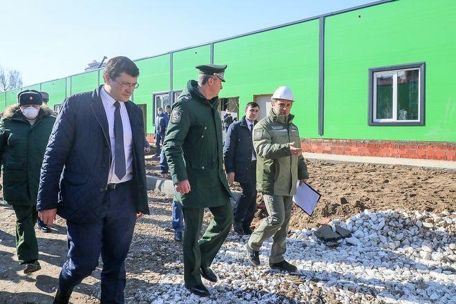 Строительство инфекционного госпиталя завершается в Нижнем Новгороде - фото 4