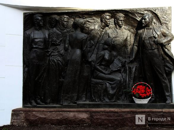 Памятник Ленину и марксистам отреставрировали в Нижнем Новгороде - фото 1