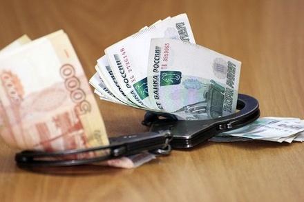 Сотрудник полиции заключен под стражу за взятку в миллион рублей